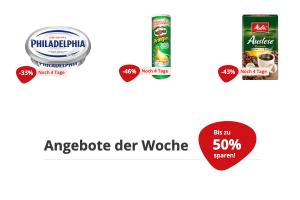Bild von Letzte Chance: 50% Rabatt auf Lebensmittel plus 10€ EXTRA Rabatt mit dem CODE: WeltderRabatte10 (z.B. RedBull, Pringles, CocaCola uvm)