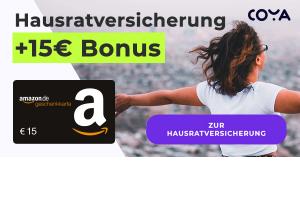 Bild von 6 Monate effektiv GRATIS: Coya Hausratversicherung ab 1,79€ + 15€ Bonus: Digital, jederzeit kündbar, ohne Selbstbeteiligung