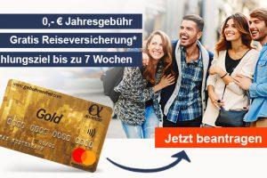 Bild von Mastercard GOLD: Jetzt kostenlos bestellen und dauerhaft gebührenfrei nutzen