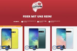 Produktbild von Galaxy S10e für 19€ mit o2 Alles-Flat + 19GB LTE für 29,99€/Monat + GRATIS: AKG Y500 Kopfhörer (oder mit 6GB LTE für 24,99€/Monat)