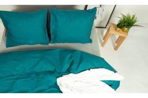 Bild von Nightlife Bettwäsche-Set für Winter und Sommer 135 x 200 cm in der Farbe nach Wahl