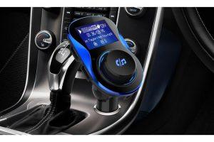 Produktbild von 3-in-1 Bluetooth-Autoladegerät in Schwarz oder Schwarz inkl. Versand
