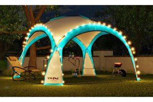 "Bild von SwingHarmony LED-Event Pavillon XXL ""DomeShelter"" in der Farbe nach Wahl"