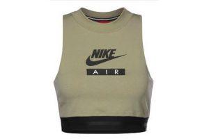 Bild von Nike  Damen Crop Top oliv