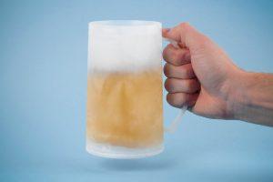 Bild von kühlendes Bierglas