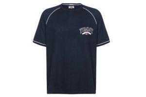 Bild von Tommy Jeans Mesh Baseball  Herren T-Shirt blau