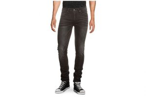 Bild von Tigha Stretch-Jeans Morten Air, Super Slim Fit schwarz