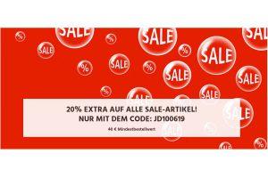 Produktbild von 20% Extra auf alle Sale-Artikel
