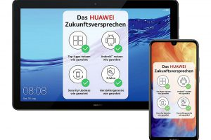 Bild von Cyberdeal HUAWEI Y7 2019 midnight black Smartphone + MediaPad T5 10 Tablet WiFi 32GB black