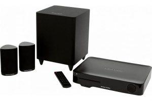Bild von Harman/Kardon BDS 635 5.1 Heimkinosystem (200 W, Bluetooth, WLAN, LAN (Ethernet), 3D-fähig), schwarz