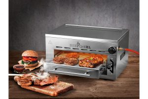 Bild von GOURMETmaxx Gasgrill Beef Maker 4-tlg., silberfarben