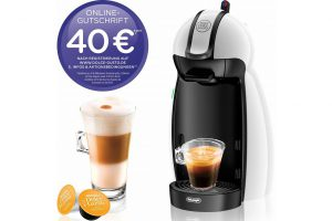 Produktbild von Nescafé Dolce Gusto Kapselmaschine NESCAFÉ® Dolce Gusto® EDG 100.W, inkl. 40€ Online-Gutschrift, weiß