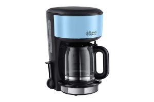 Bild von RUSSELL HOBBS FILTERKAFFEEMASCHINE 20136-56 COLOURS PLUS+ HEAVENLY BLAU