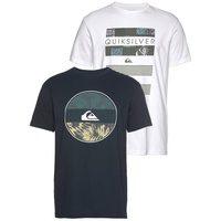 Bild von Quiksilver T-Shirt JUNGLE UPFLX PA M TEES (Packung, 2-tlg., 2er-Pack)