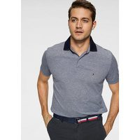 Bild von TOMMY HILFIGER Poloshirt UNDER COLLAR PRINT REGULAR POLO blau