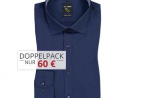 Produktbild von Hemden Sale im Doppelpack bis zu 70% Rabatt