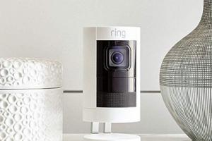 Bild von Ring Stick Up Cam Battery HD-Sicherheitskamera mit Gegensprechfunktion, Weiß, funktioniert mit Alexa