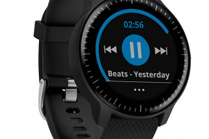 Bild von Garmin vívoactive 3 Music GPS-Fitness-Smartwatch – Musikplayer, Garmin Pay, vorinstallierte Sport-Apps