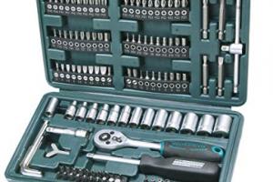 Bild von Brüder Mannesmann M29166 Steckschlüssel und Bitsatz, 130-tlg
