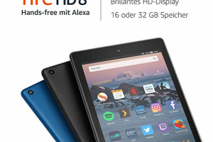 Bild von Fire HD 8-Tablet, 16 GB, Schwarz, mit Spezialangeboten
