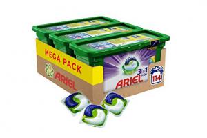 Bild von Ariel 3in1 PODS Colorwaschmittel, 114 Waschladungen (1 x 3 x 38 Waschladungen)