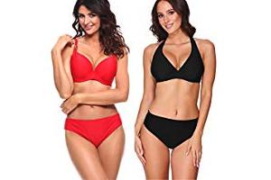 Bild von Bis zu 56% reduziert: Damen Bikini Oberteile und Unterteile