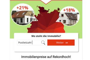 Bild von Immobilienpreise auf Rekordhoch – Jetzt deine Immobilie kostenfrei von Profis bewerten lassen!