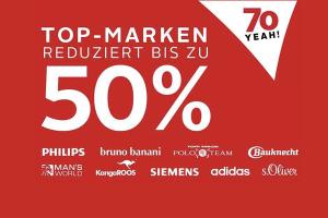 Bild von 70 Jahre OTTO: Mega Sale mit bis zu 50% Rabatt und 20€ Neukunden Gutschein
