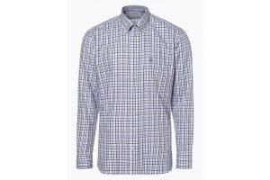 Bild von Bugatti Herren Hemd – Bügelleicht blau
