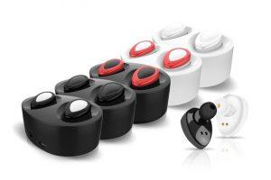 Bild von 1x oder 2x In-Ear-Kopfhörer mit Bluetooth inkl. Ladestation in der Farbe nach Wahl