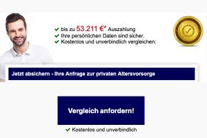 Bild von Achtung aufgepasst: Bis zu 53.211€ Auszahlung sichern – Finde unkompliziert und schnell die für Dich passende Altersvorsorge!