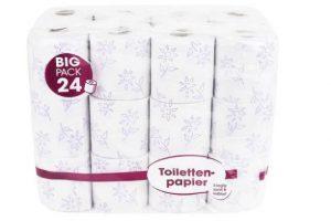 Produktbild von 96 oder 192 Rollen 3-lagiges Toilettenpapier