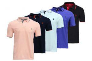 Produktbild von US Polo Assn Herren-Poloshirt in der Farbe und Größe nach Wahl