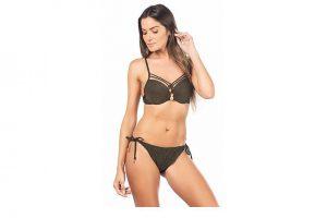Bild von Lili ET ZOE Bikini, schwarz/golden