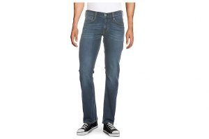 Bild von Mustang Stretch-Jeans Oregon Boot, Slim Fit blau
