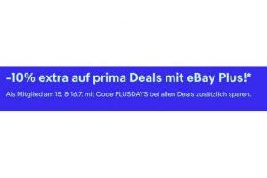 Bild von -10% extra auf Prima Deals mit eBay Plus!