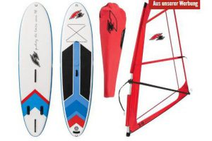 Bild von F2 SUP Windsurf Set Stand Up Paddle