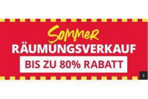 Produktbild von Sommer Räumungsverkauf bis zu 80% Rabatt