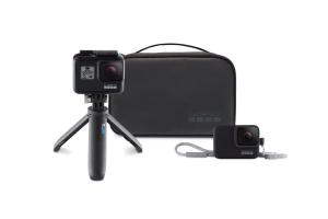 Bild von GoPro Travel Kit aus Shorty-Stativ, Trageband, Tasche (AKTTR-001) + 5€Rabatt mit dem CODE: YDEREA2VRQFCZQQM