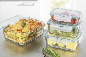 Bild von Frischhaltedosen Klick-it 8tlg. Glas Brotdose Lunchbox Aufbewahrung Mikrowelle + 5€ EXTRA Rabatt mit dem CODE: YDEREA2VRQFCZQQM