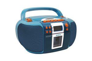 Bild von Kinder CD-Player mit Kassette JAKO-O SCD5406JA Boombox Radio – 10% extra Rabatt und versandkostenfrei mit Code WDR10