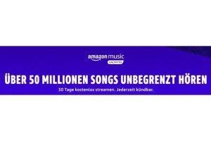 Bild von Amazon Music jetzt 30 Tage Gratis