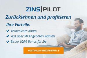 Bild von Endlich wieder gute Zinsen: bis zu 1,85% Zinsen auf dein Festgeld + 100€ Bonus