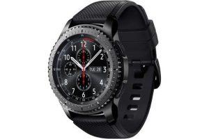 Bild von Samsung Gear S3 Frontier schwarz