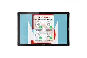 Bild von HUAWEI MediaPad M5 10.8 32 GB Android 8.0 Tablet LTE space grey