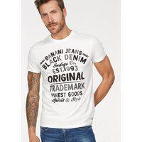 Bild von Bruno Banani T-Shirt Mit Markenprint weiß