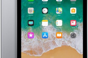 Bild von Apple iPad  32GB, Space Gray [6. Generation / 2018] (MR7F2FD/A)