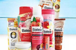 Bild von Gewinne ein Balea Probierpaket im Wert von 50€