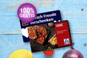Produktbild von Gewinne einen 100€ Aldi Einkaufsgutschein