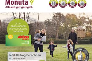 Produktbild von Exklusiv und gratis bei Monuta: Doppelauszahlung & Rechtsauskunft und Aktion Mensch Los